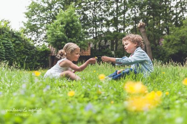 Spontane foto's kinderen